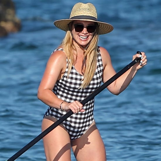 Hilary Duff on the Beach in Hawaii August 2017