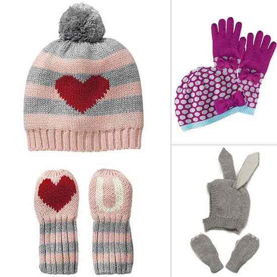 10 Cozy-Cute Hat and Mitten Sets For Little Girls