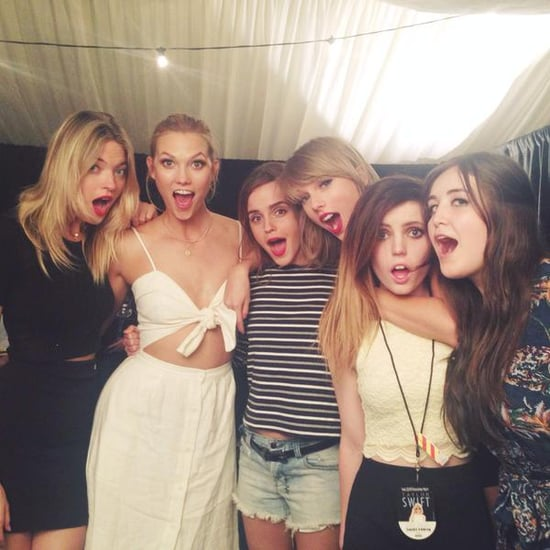 Emma Watson Hits It Off With Taylor Swift — See Their Cute Picture!
