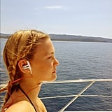 Bar Refaeli found moments of zen during her exotic vacations.  Source: Instagram user barrefaeli