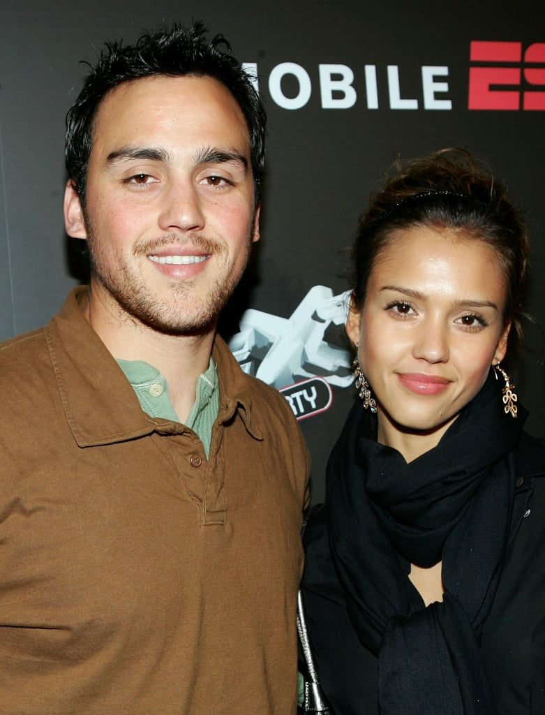 Jessica and Joshua Alba