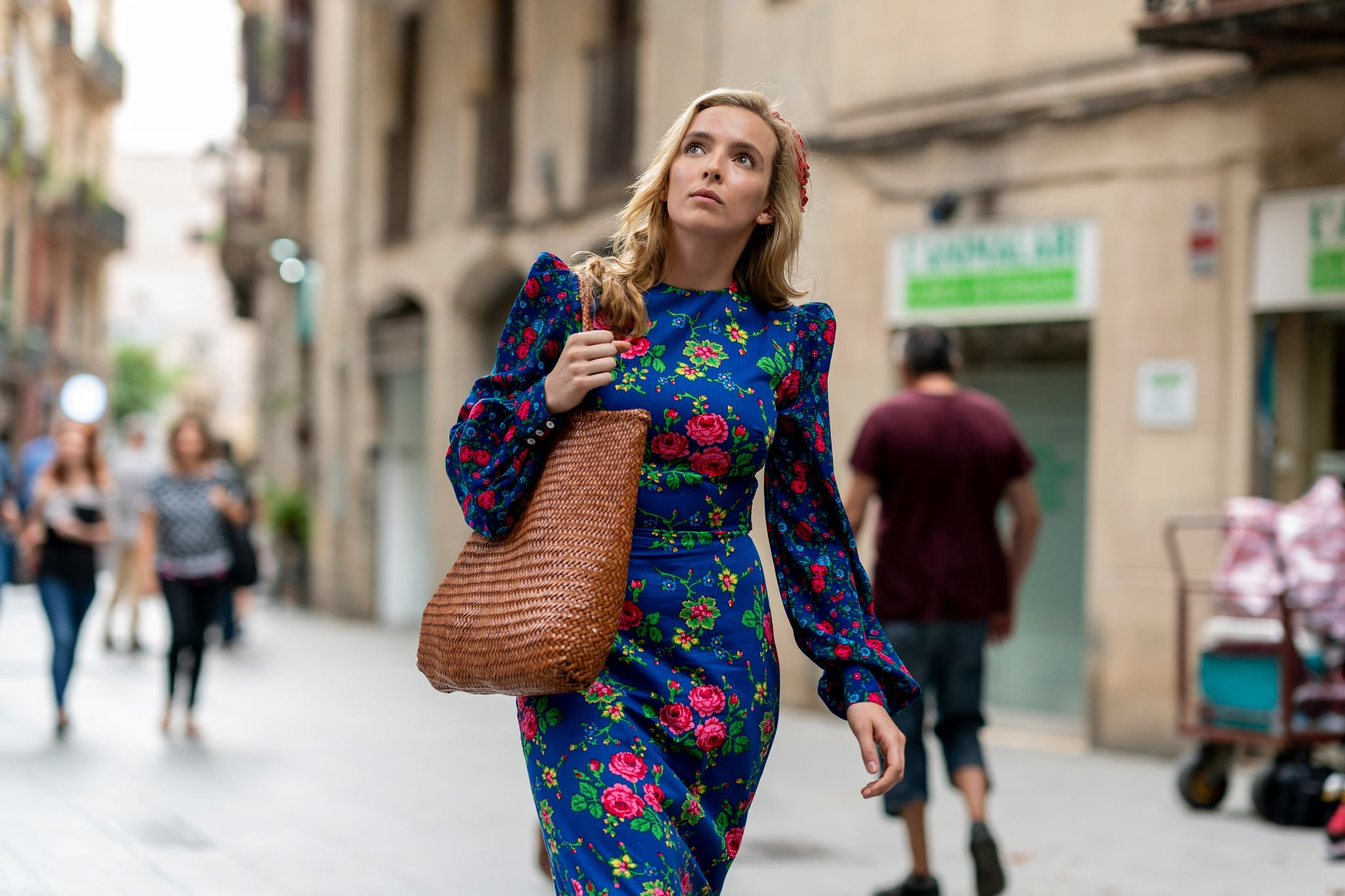 KILLING EVE, Jodie Comer, (Season 3, premiered Apr. 12, 2020). photo: Des Willie / BBC-America / Courtesy Everett Collection