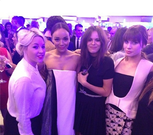 What's better than four pretty girls? Four pretty girls in Dior! Source: Instagram user atlantabean