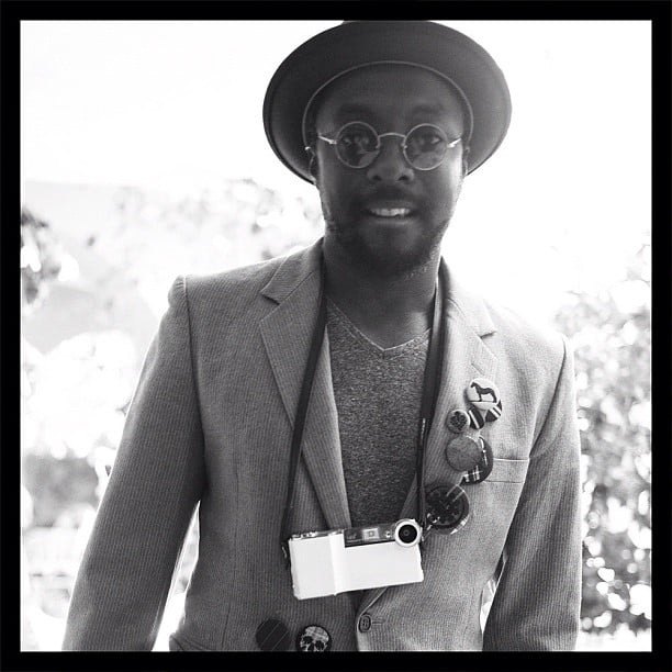 John Mayer shot a black-and-white pic of Will.i.am. Source: Instagram user mrjcmayer
