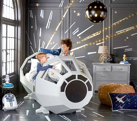 Celebrate #ForceFriday With This $3,999 Star Wars Millennium Falcon Bed From Pottery Barn