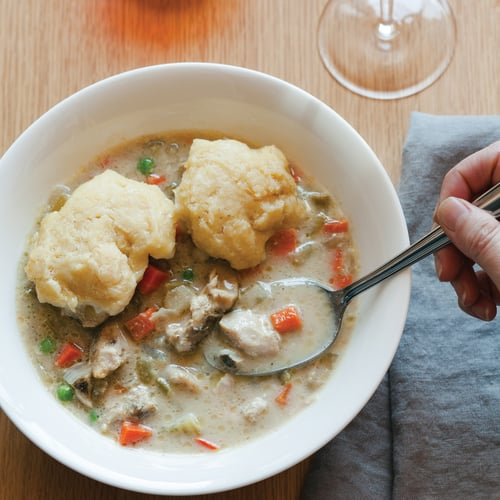 Slow-Cooker Chicken and Biscuits | POPSUGAR Food
