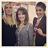Jessica Alba was starstruck when she met Susan Lucci.  Source: Instagram user therealjessicalba