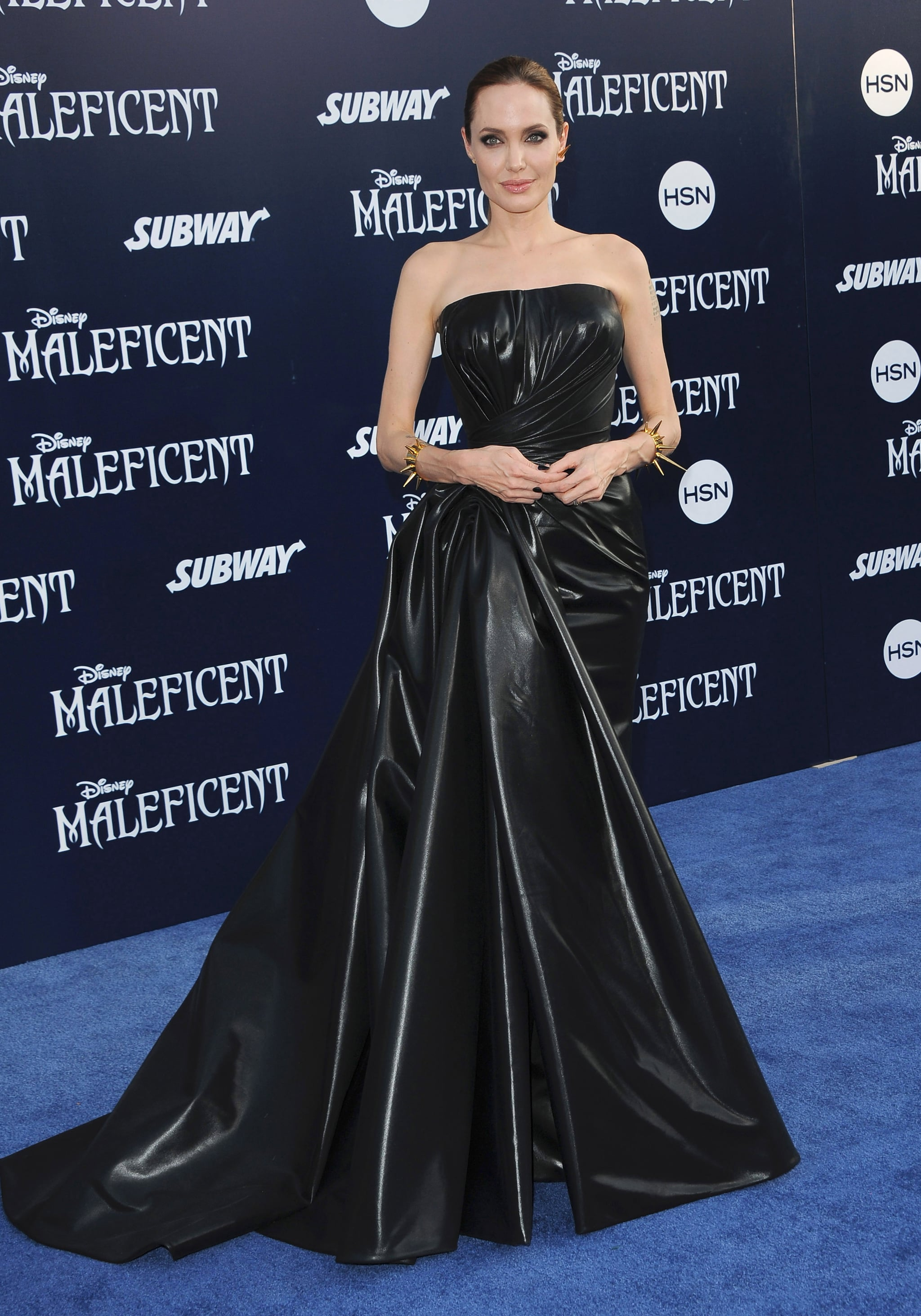 Angelina Jolie At The 2014 Maleficent Premiere Angelina