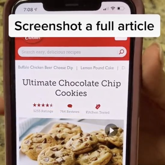 How to Take Full-Page Screenshot on iPhone With Scrolling