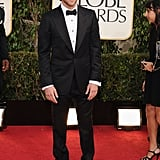 Bradley Cooper on the red carpet at the Golden Globe Awards.