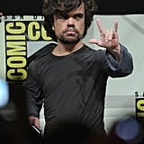 Peter Dinklage addressed his fans at the Game of Thrones panel.