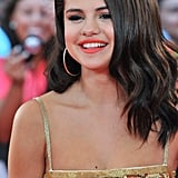 Selena Gomez smiled at the MuchMusic Video Awards in Toronto.