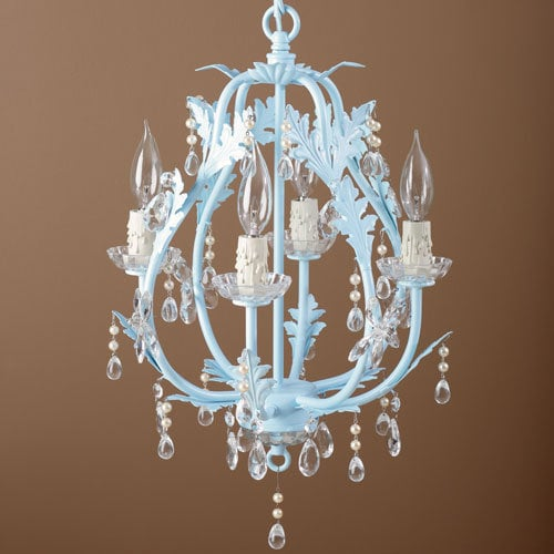 Mini Chandeliers For a Girl's Room