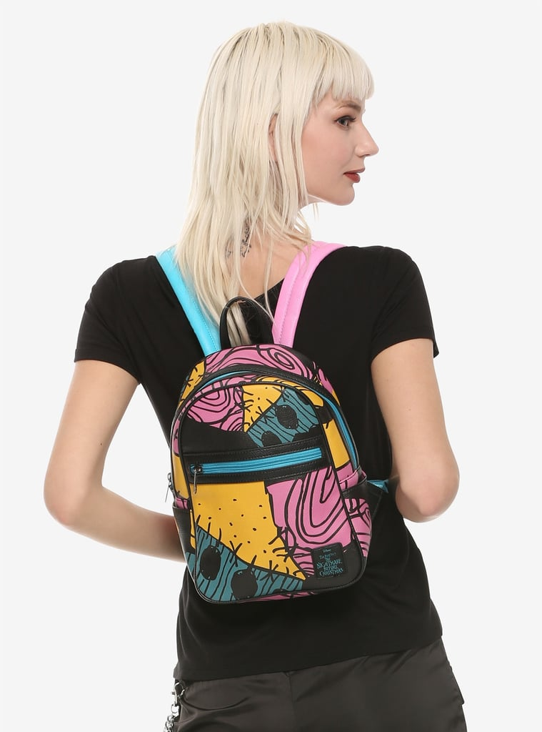 Hot Topic Nightmare Before Christmas Dress.The Nightmare Before Christmas Sally Patchwork Mini Backpack