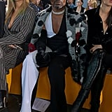 Billy Porter at the David Koma London Fashion Week Show