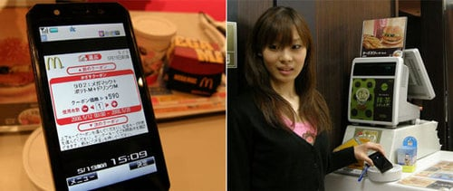 Daily Tech: McDonald's in Japan Tests Out Pay-By-Phone Coupons