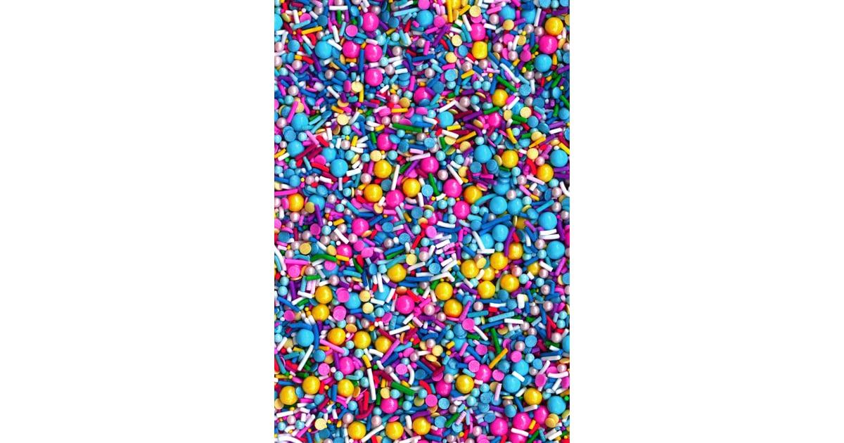 Fancy Sprinkles Birthday Balloons ($10)   Food Stocking