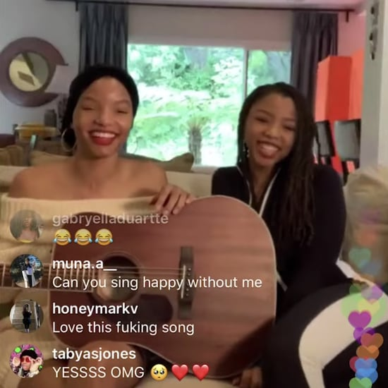 Watch Chloe x Halle's TogetherAtHome Instagram Concert Video