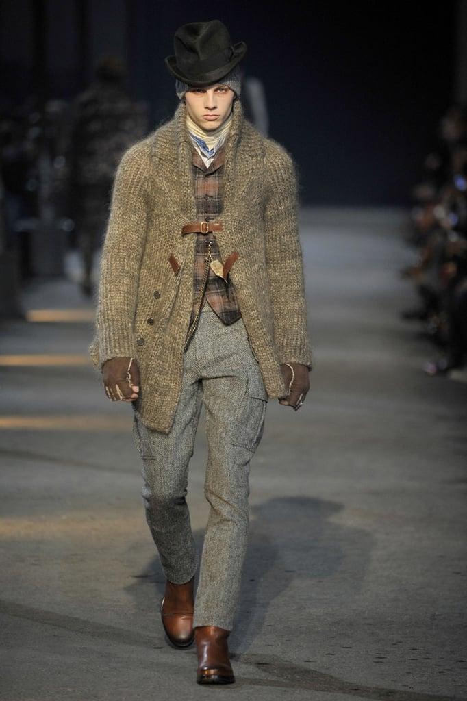 Milan: Alexander McQueen Men's Fall 2009
