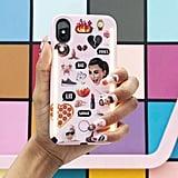 LuMee Duo Kimoji Pink Collage iPhone 8/7/6 Case