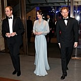 The young royal looked dapper when he attended the Spectre premiere in London with brother William and Kate Middleton in October 2015.