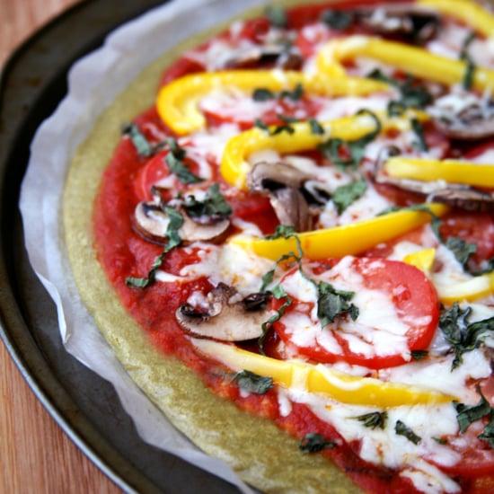 Quinoa Pizza Boden | Glutenfrei und Vegan