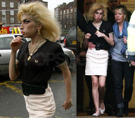 Amy Winehouse Attends Blake Fielder-Civil's Hearing in ...