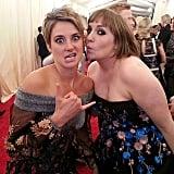 Shailene Woodley and Lena Dunham