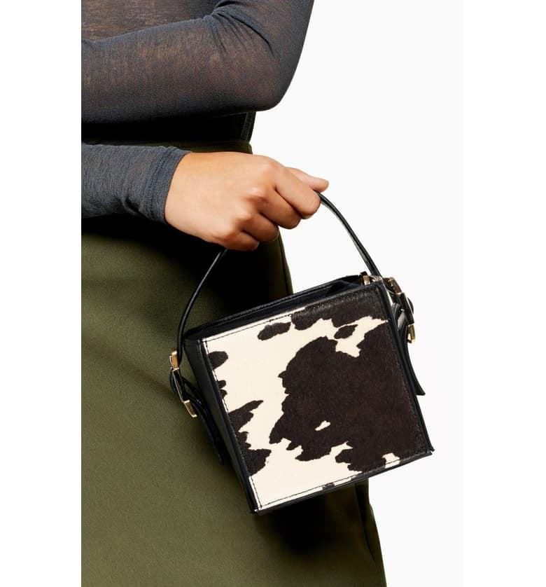Topshop Gracie Box Shoulder Bag