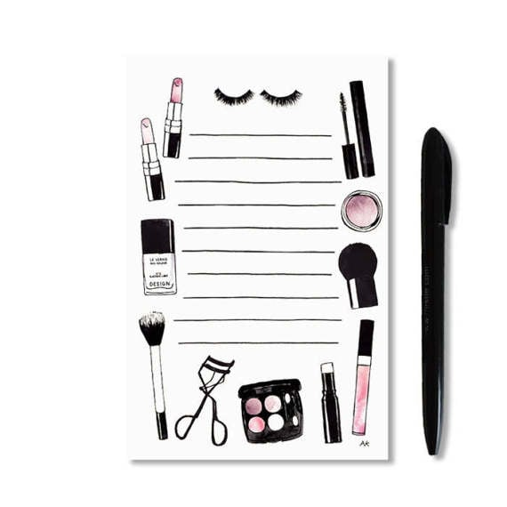 Makeup Notepad