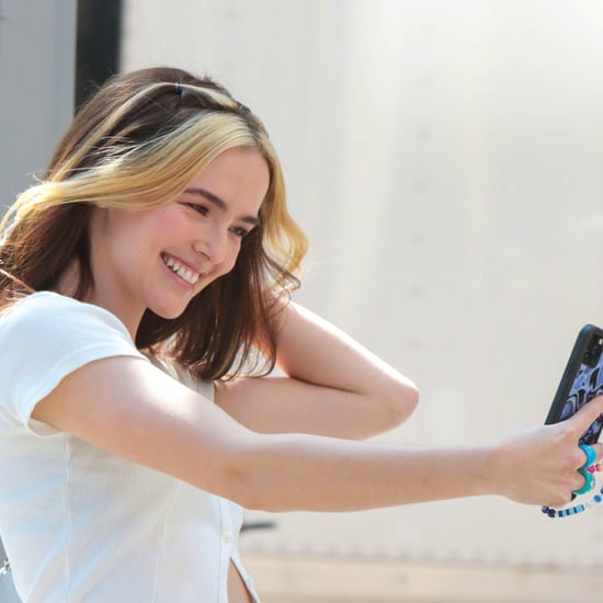 """Zoey Deutch Debuts New """"Money Piece"""" Highlights For Not Okay"""