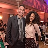 Thandie Newton and Ol Parker in Los Angeles, 2015