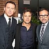 Channing Tatum, Mark Ruffalo, and Steve Carell brought a boatload of talent to a Sony event.