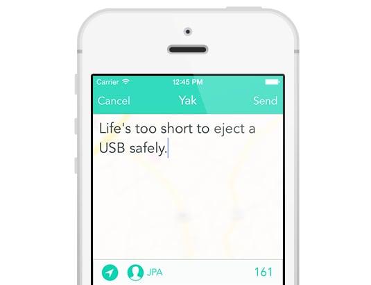 Yik Yak | Favorite Apps 2015 | POPSUGAR Middle East Tech