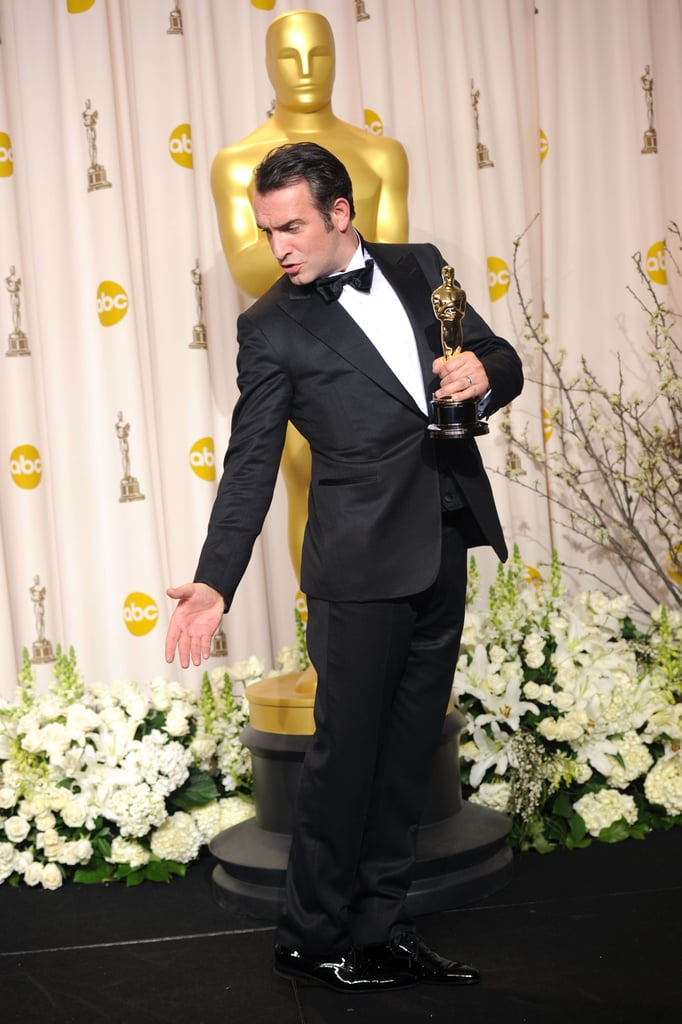 Jean dujardin 2012 pictures from the oscar press room for Dujardin automobile