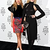 Suki Waterhouse and Clara Paget