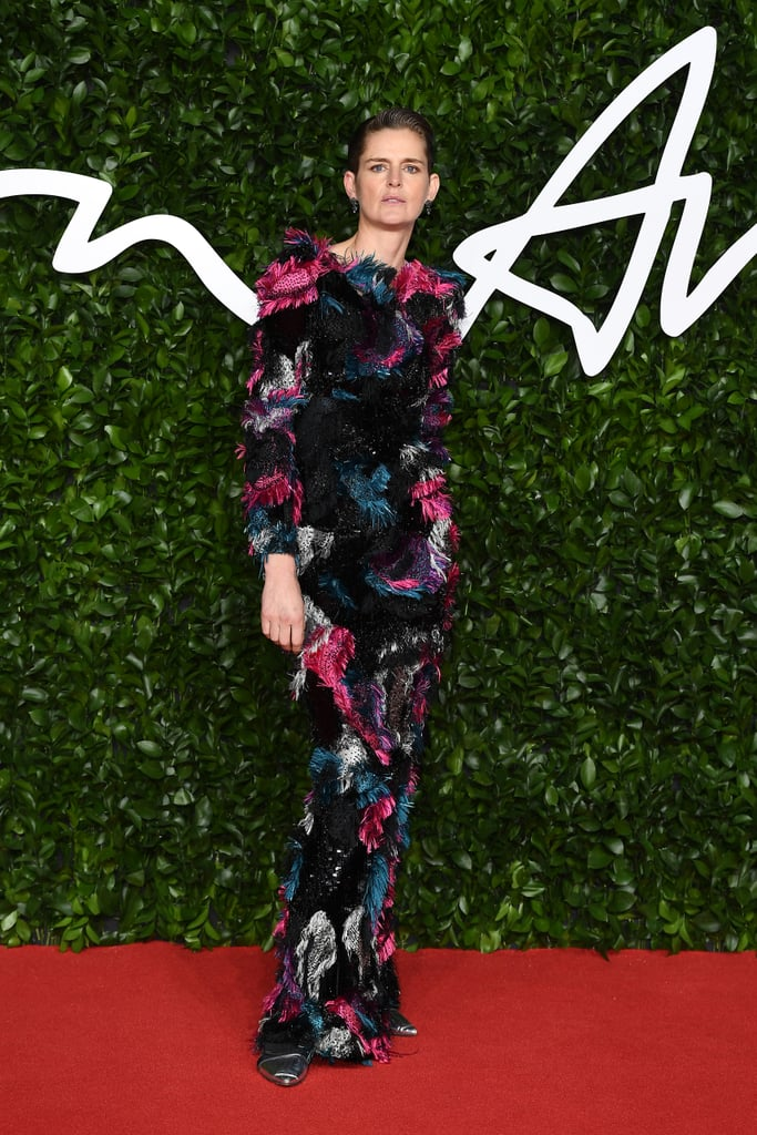 Stella Tennnant at the British Fashion Awards 2019