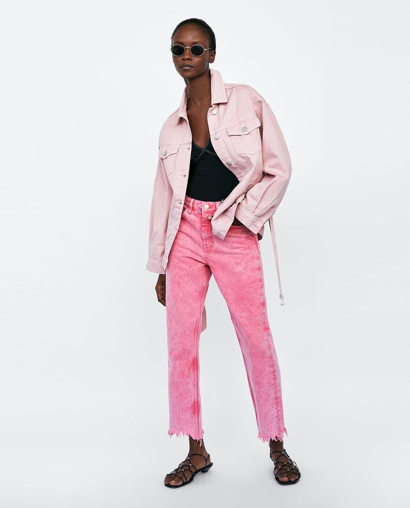 Zara Ripped Mom Jeans
