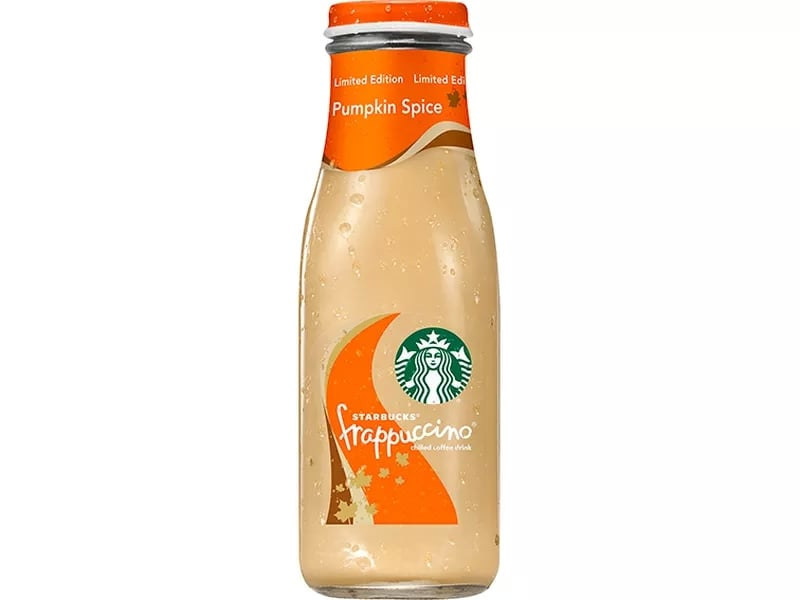 Starbucks' Bottled Pumpkin Spice Frappuccinos Are Coming to a Store Near You