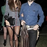 Alessandra Ambrosio and Jamie Mazur as a General and a Cowboy