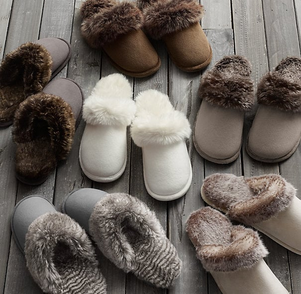 Trust us: she'll be sporting these cozy, supersoft faux-fur slippers ($19, originally $24) throughout the entire holiday break.