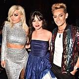 Camila Cabello With Bebe Rexha and Frankie Grande