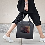 One of the newest iterations of wearable tech, the Sydney Rogers tote, debuted at NYFW.