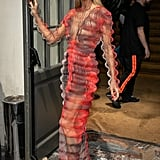 How does one even conjure up the courage to wear an Iris Van Herpen number like this? Teach us your ways Céline!