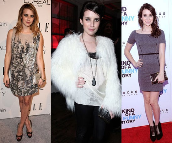 Feeling totally inspired by Emma Roberts.