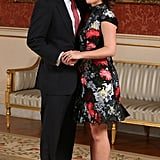 Princess Eugenie's Erdem Engagement Dress