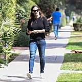 Jennifer Garner Smiling Out in LA June 2016