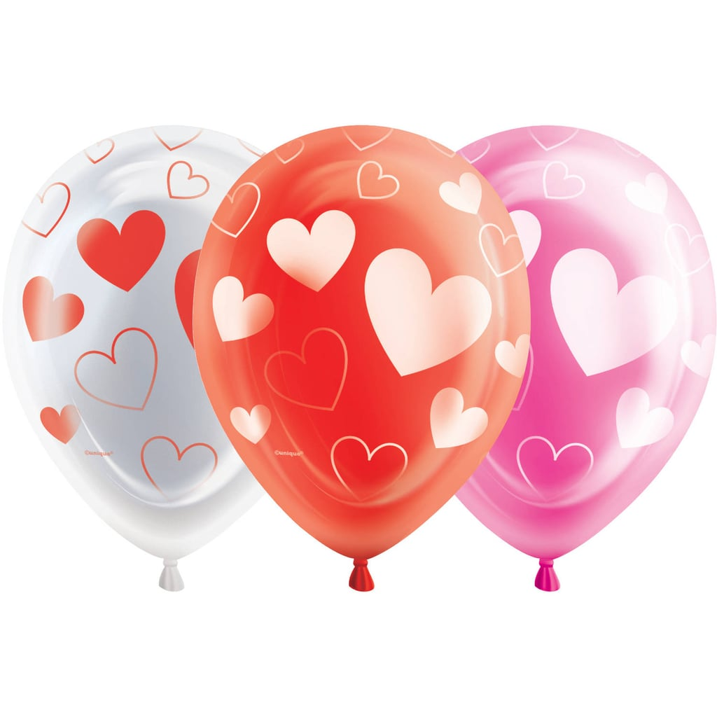 10 Hearts Valentines Day Led Light Up Balloons Valentines Day