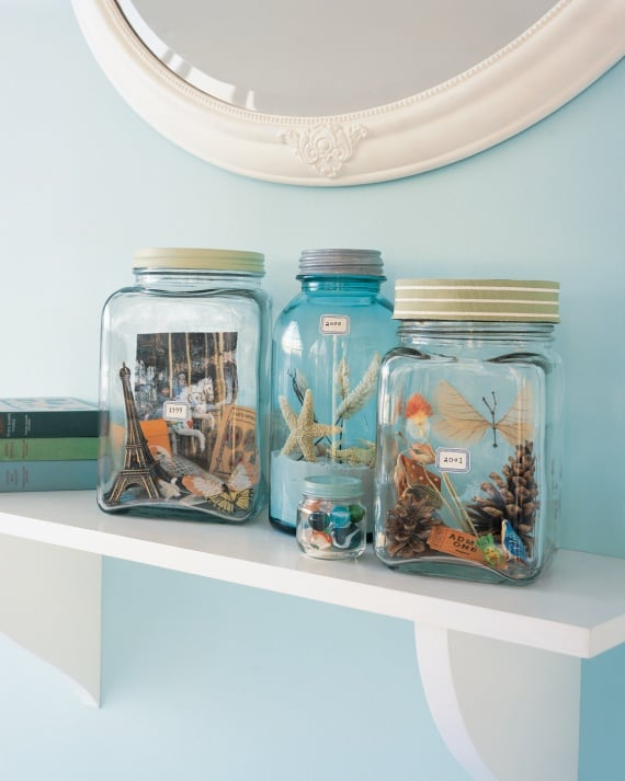 Make Vacation Memory Jars