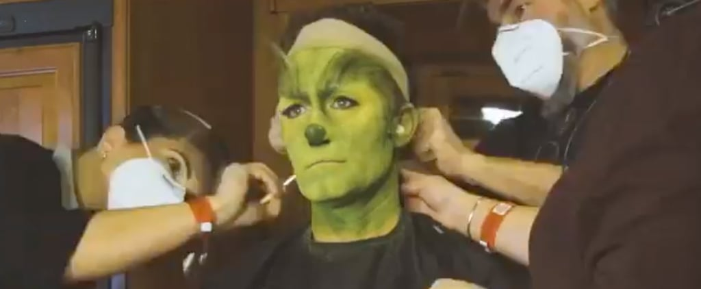 Watch Matthew Morrison Transform Into the Grinch | Video